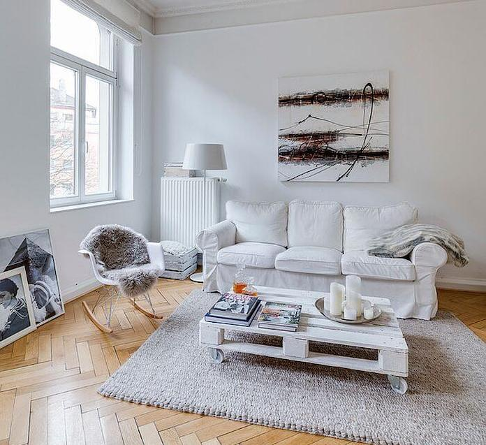 Light Scandinavian home