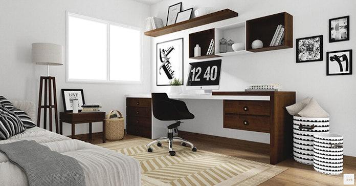 Scandinavian Home Office 3