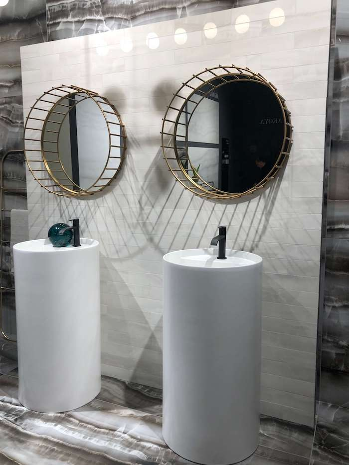 интересные идеи для ванной комнаты Cersaie