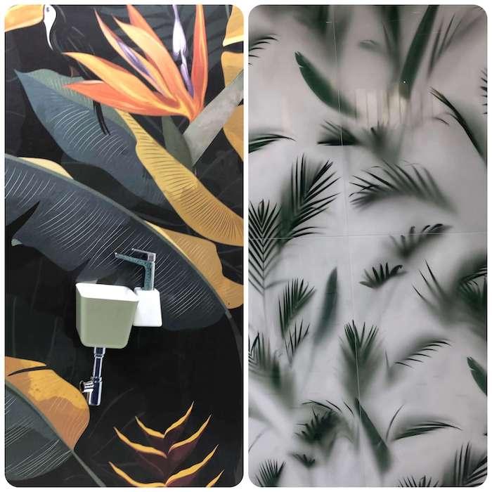 дизайн плитки для ванной комнаты фото Cersaie 2019