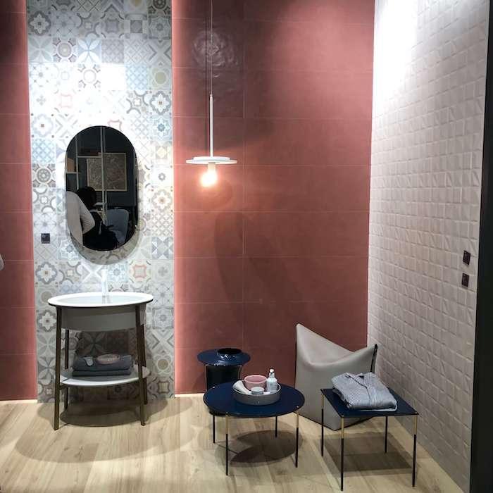идеи дизайна ванной комнаты фото c Cersaie