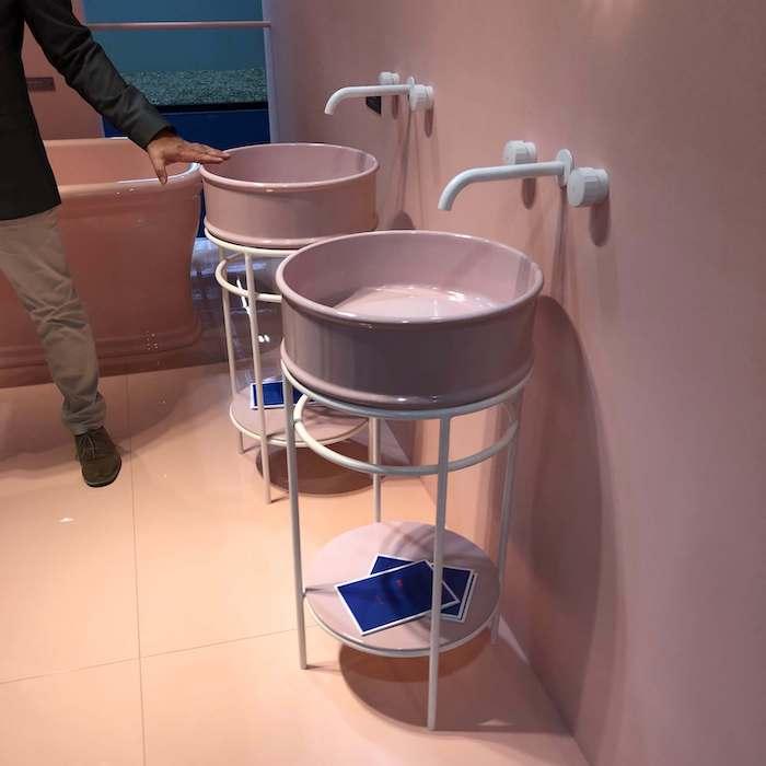 идеи оформления ванной комнаты Cersaie