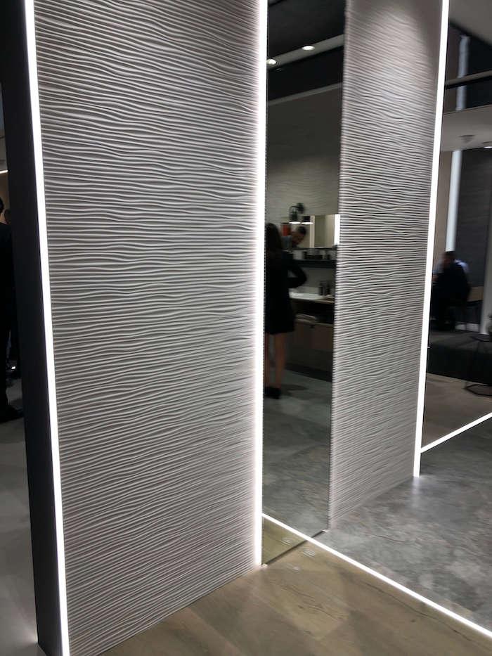 элитные ванные комнаты фото с Cersaie 2019