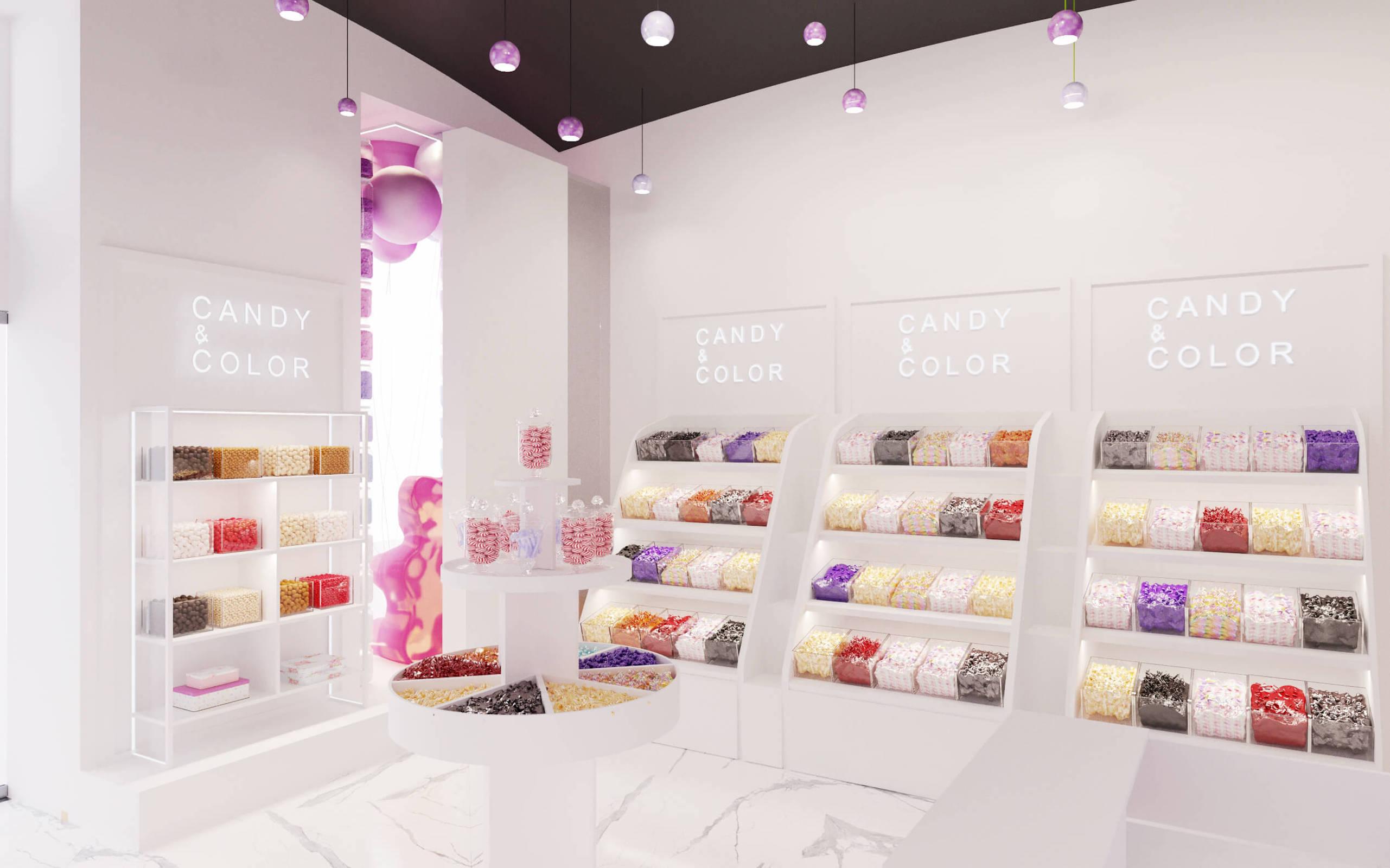 кондитерский магазин дизайн